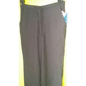 Michele Straight Draw String Dress Pants 10P